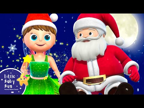Jingle Bells V2 | Christmas Songs | +More Nursery Rhymes and Kids Songs | Little Baby Bum