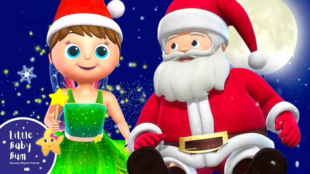 Jingle Bells V2 | Christmas Songs | +More Nursery Rhymes and Kids Songs | Little Baby Bum