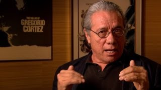 Shooting ¡Alambrista! with Edward James Olmos