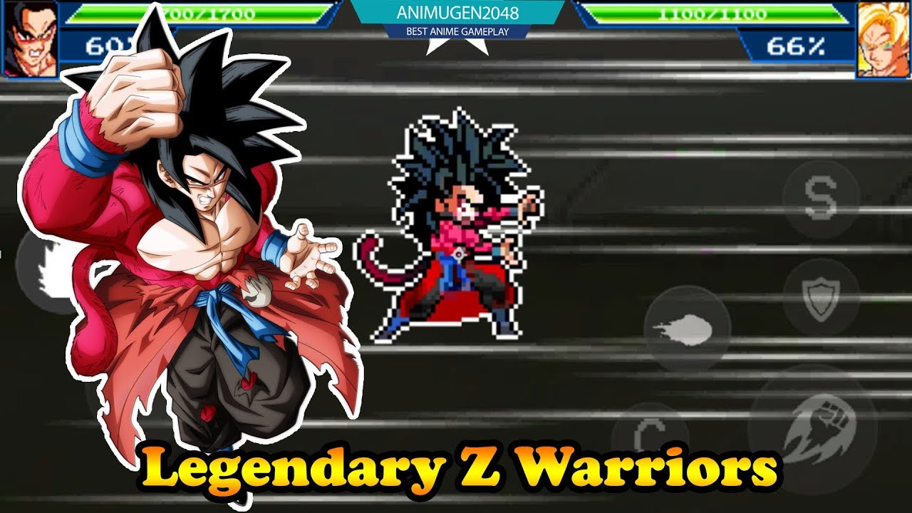 Legendary Z Warriors APK - Goku Super Saiyan 4 Dragon Ball Hero
