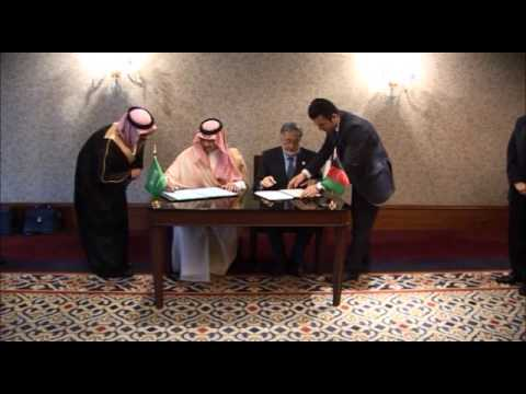 Afghanistan and Saudi Arabia sign general cooperation agreement