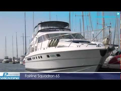 Luxury Power Boat for Sale - Fairline Squadron 65 - Premier Yachting Melbourne