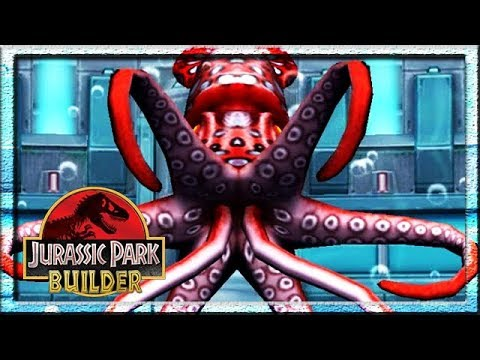 ALL AQUATIC SPECIAL ATTACKS (JURASSIC PARK BUILDER)