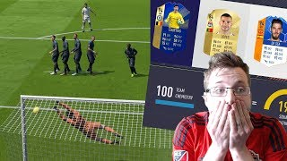 7 TOTS Players in one Draft! FIFA 18 FUT Draft World Cup Qualifier Challenge!