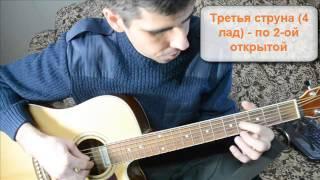 Настройка шестиструнной гитары (урок для новичков)!