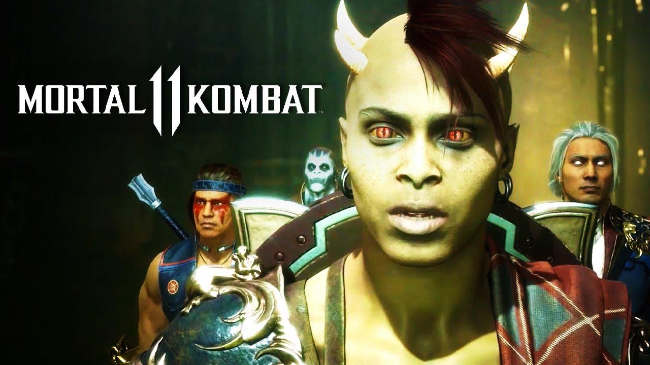 Mortal Kombat 11 Aftermath Official Cinematic Teaser Youtube