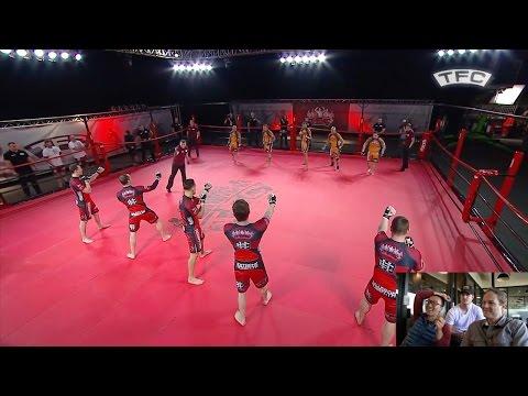 BJJ Vs Boxing: 5 Vs 5 MMA Fight - Brazil Vs UK