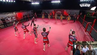 BJJ vs Boxing: 5 vs 5 MMA Fight - Brazil vs UK