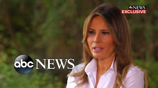 Melania Trump says she's one of the most bullied people in the world