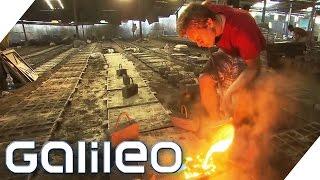 Kanaldeckelhersteller in Indien | Galileo | ProSieben