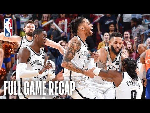 Dan Rivers - Nets Cuts Down Cavaliers In Triple-OT