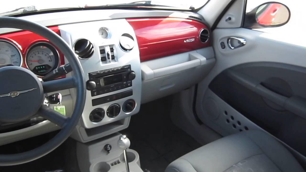 2009 Chrysler PT Cruiser, Red   STOCK# B2273G   Interior