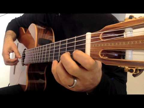 Easy HISTORIA DE UN AMOR Guitar Solo