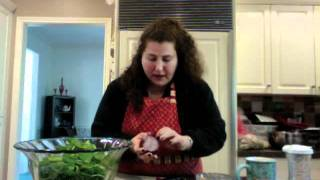 Make It With Me, It's Gonna Come Out O.k. - Spinach And Pomegranate Salad - Episode 2