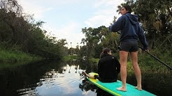 PADDLE BOARDING THE FLORIDA JUNGLE