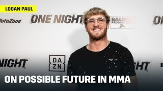 Logan Paul Says Future Is Fighting In MMA