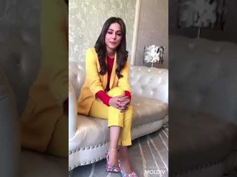Dilbaro Song Sing By Hina Khan Style