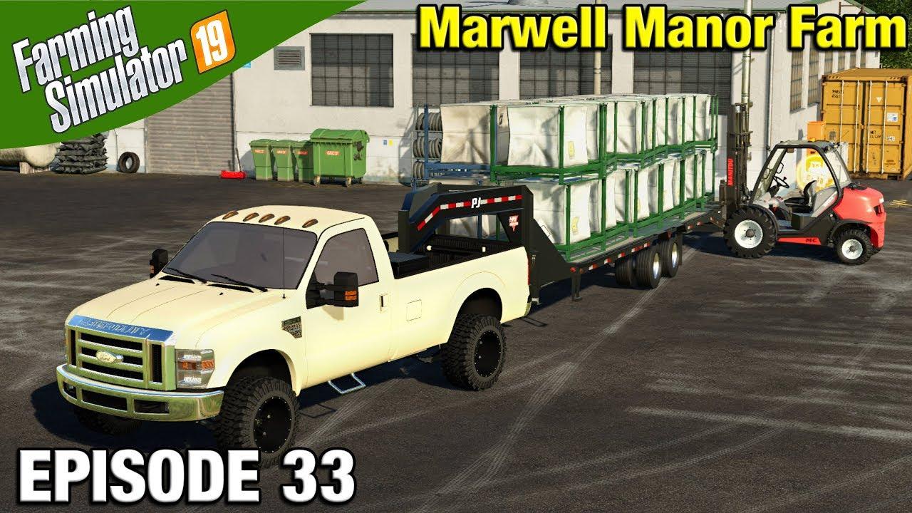 HAULING SEED BAGS Farming Simulator 19 Timelapse - Marwell Manor Farm FS19  Episode 33