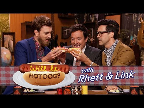 Thumbnail: Will It Hot Dog? with Jimmy Fallon, Rhett & Link (Good Mythical Morning)