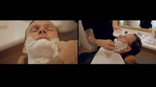 Как бриться опасной бритвой от Nomad Barber (с русскими субтитрами)