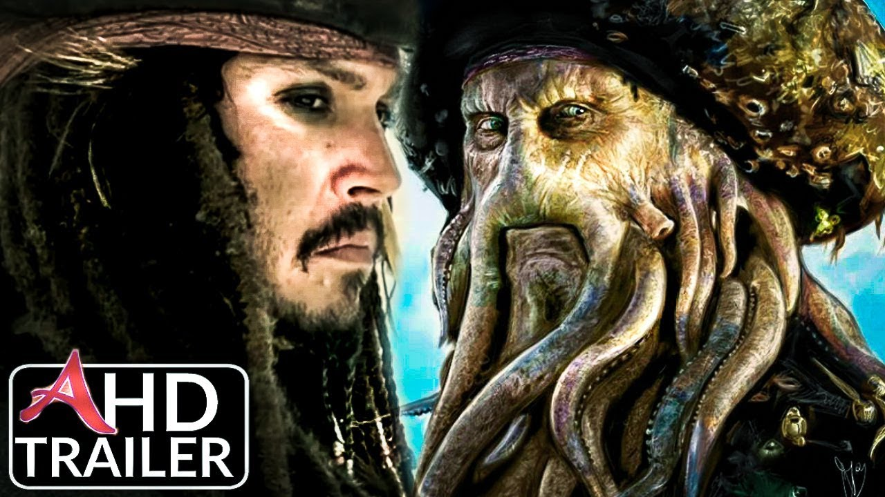 Pirates of the Caribbean 6: Return of The Kraken - Trailer #1 - Johnny Depp  Film (Concept)