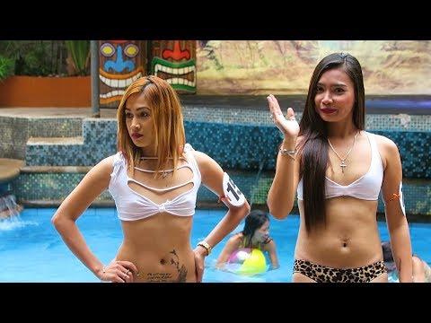 Angeles City Pool Party 'Miss November' Score Birds Hotel, Philippines 🇵🇭