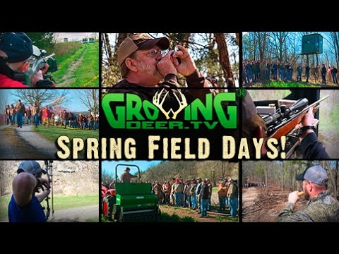 Tips For Hunting And Habitat Management: Spring Field Day 2016 (#333) @GrowingDeer.tv