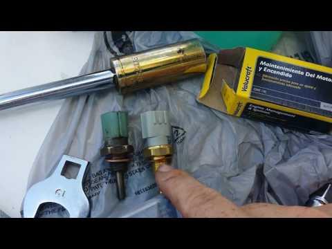 Coolant temperature sensor replacement