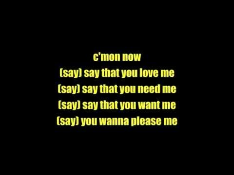 The Isley Brothers - Shout! Lyrics [on screen]