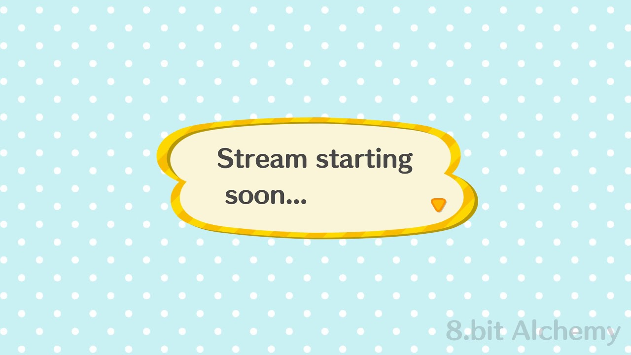 Animated Stream Banners Animal Crossing Speech Bubble Youtube