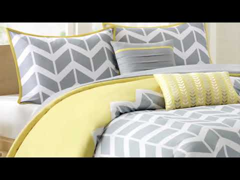 Nadia Comforter Set By Intelligent Design Youtube