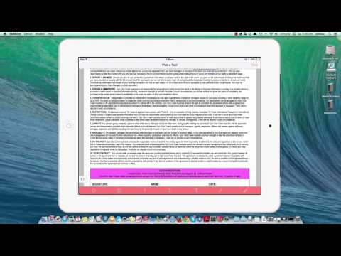 Adobe Reader instructions for ipad, iphone, android phone & tablet   YouTube 720p
