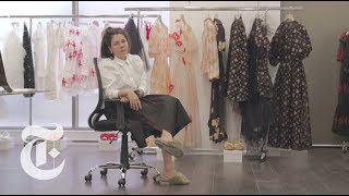 Inside Simone Rocha's All-Female Fashion House | In The Studio Video