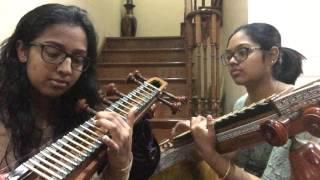 Sundari Kannal Oru Sethi- Thalapathi (Veena Cover)