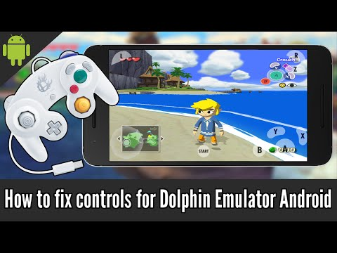 How to fix controls for Dolphin Emulator Android