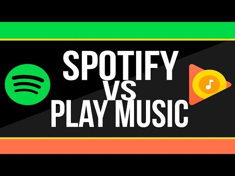 SPOTIFY VS PLAY MUSIC | ¿CUAL ES EL MEJOR SERVICIO PREMIUM? | ANALISIS PROFUNDO