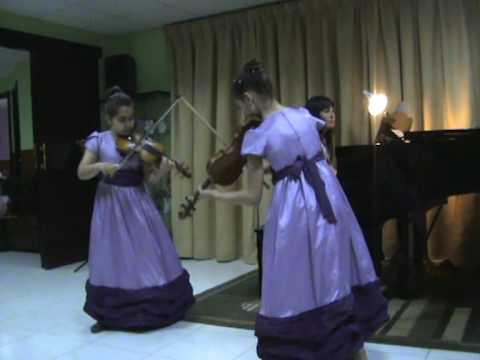 Blue Danube Waltz violin duet