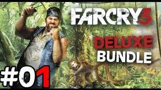 Far Cry 3 Deluxe Bundle : Walkthrough / Gameplay #01 - Fr - Macaco Deglingo
