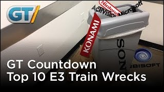 Top 10 E3 Trainwrecks