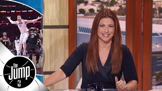 Rachel Nichols: The NBA is better than Netflix | The Jump | ESPN