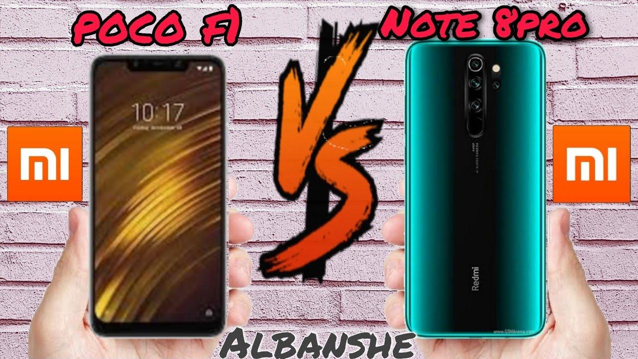 مقارنة #موبايل شاومي وسامسونغ    poco f1       VS       Note 8pro  #مقاطع فيديو