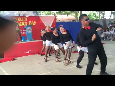 Mabini NHS Grade 7 on Teachers Day