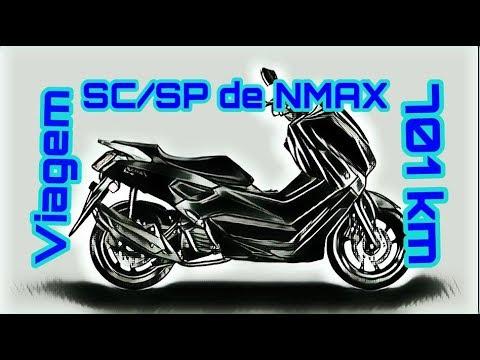 Viagem SC / SP de Nmax - 701 km