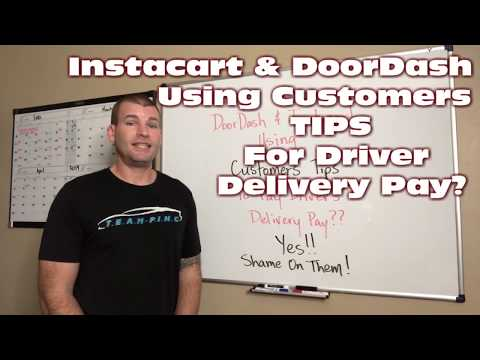 Instacart & DoorDash Using Customers Tips for Delivery Pay?  YES!!!! Mp3