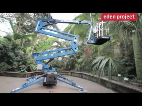 Behind the scenes of the Eden Project tilt-shift film