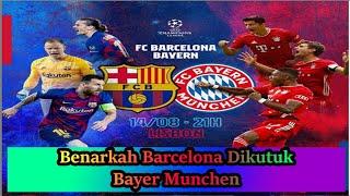 Reviuw barcelona vs bayer munchen liga ...