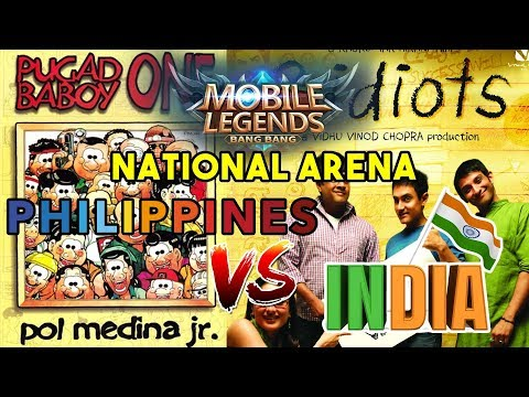 Philippines vs India - National Arena - Mobile Legends: Bang Bang