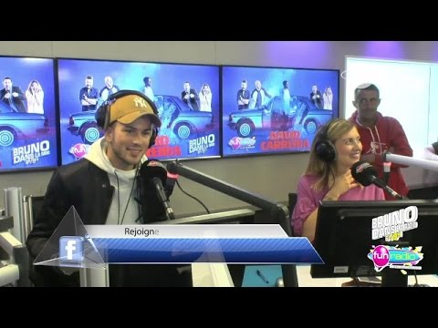 David Carreira en Live (19/05/2017) - Bruno dans la Radio