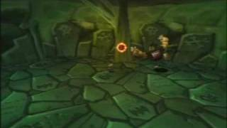 Rayman 2: The Great Escape (PS1) - The Tomb of the Ancients (Part 2/2)