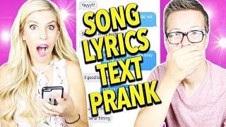 SONG LYRIC PRANK! (Justin Timberlake's Can't Stop The Feeling)